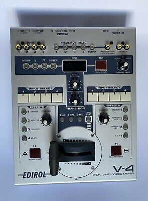 £305.52 • Buy Edirol V-4 - 4-channel Video Mixer (ROLAND) - TESTED