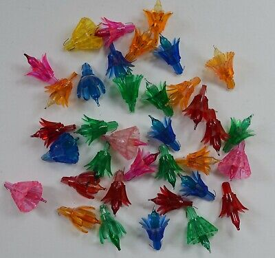 $ CDN12.12 • Buy 36  Vintage Flower Petal  Christmas Replacement Tree Lights - 4 Types - All Work