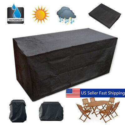AU24.99 • Buy 10 Size Waterproof Outdoor Patio Garden Furniture Rain Snow Cover For Table