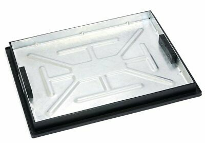 £48.49 • Buy 600x450x50mm Galv Recess Tray Manhole Cover And Frame 5tonne Gpw T11g3