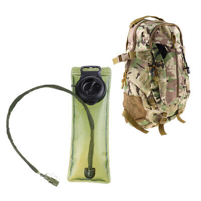 £30.69 • Buy Lightweight Camouflage Backpack Luggage Storage Daypack And Hydration Bladder
