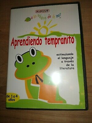 £1.90 • Buy Spanish Kidzup Language Dvd Aprendiendo Tempranito Learning Early For Kids 1-4