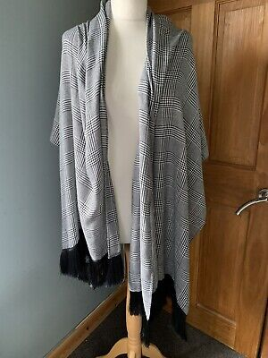 £9.99 • Buy Unbranded Houndstooth Shawl/ Scarf