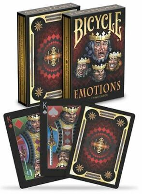 £5.99 • Buy Bicycle Poker Playing Card Deck Emotions