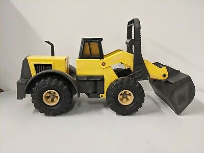 AU28.32 • Buy Vintage Tonka Front End Loader Metal Yellow Toy Truck Tractor 728