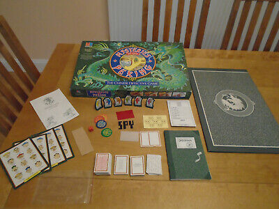 £59.99 • Buy Vintage 1987 MB Mysteries Of Old Peking The Chinese Detective Game 100% Complete