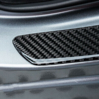 AU16.64 • Buy Car Accessories Carbon Fiber Door Sill Scuff Plate Cover Panel Step Protector
