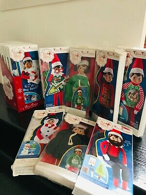 AU18.99 • Buy Elf On The Shelf Clothes Lots, Sleeping Bag All With Box, Elf Banner