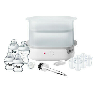 £65.85 • Buy Tommee Tippee Closer To Nature Electric Steriliser Set- White