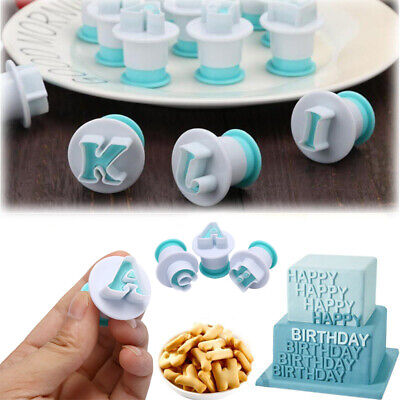 £6.61 • Buy Cupcake Mold Cake Decorating Tools Alphabet Number Cookie Cutter Stamp ImpreCI