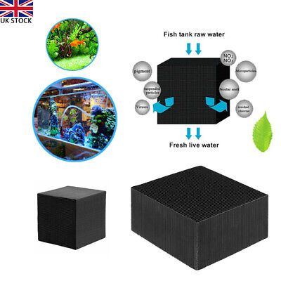 £9.69 • Buy Eco-Aquarium Water Purifier Cube Fish Tank Cleaning Activated Carbon Rubiks Cube