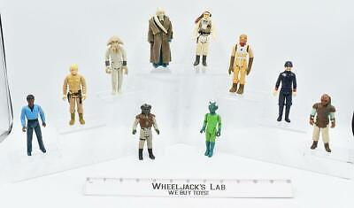 $ CDN60.66 • Buy Lot Star Wars Figures X10 Star Wars Vintage Kenner Action Figure No Repro