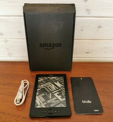 £24.99 • Buy Amazon Kindle Ebook Book Reader Tablet 4.1.4 Boxed With Instructions And Cable