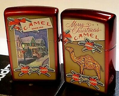 £95.12 • Buy ZIPPO Camel Christmas Candy Apple Red Case CZ LIMITED EDITION ONLY 50 MADE
