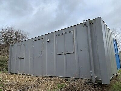 £3750 • Buy Portable Office Site Cabin Container Anti Vandal Welfare Unit 24ft