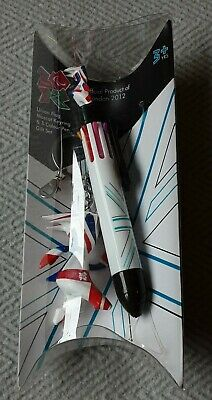 £8 • Buy Official Product Of London 2012 Olympics Mascot Keyring & 8 Colour Pen Gift Set