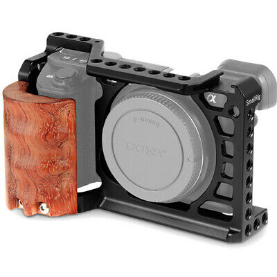 $ CDN62.30 • Buy SmallRig Arca-Type Camera Cage Kit With Wooden Grip For Sony A6500 -2097C