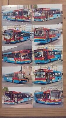 £5 • Buy A Selection / Joblot Of 10 Go North East Bus Photographs (lot 11)