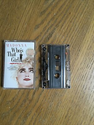 £4.50 • Buy Madonna Who's That Girl Original Film Soundtrack Cassette Tape