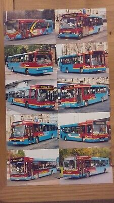 £5 • Buy A Selection / Joblot Of 10 Go North East Bus Photographs (lot 13)