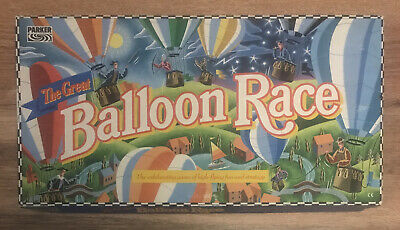 £49.99 • Buy VINTAGE BALLOON RACE BOARD GAME 1990's PARKER GAMES100% COMPLETE VGC