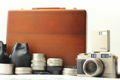 $ CDN1967.56 • Buy 【Rare! MINT In Case】Contax G1 20th Anniversary Limited Kit Lenses TLA From JAPAN