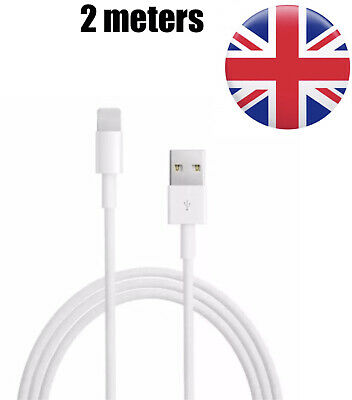 AU5.42 • Buy 2m Genuine IPhone  Charger/Data  Cable Apple  IPhone USB 6 7 8 XR XS 11 PRO MAX
