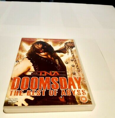 £9.95 • Buy TNA WRESTLING Doomsday - The Best Of Abyss (DVD, 2007)
