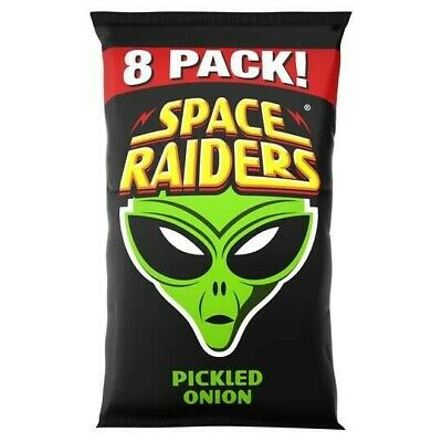 £7.88 • Buy Space Raiders Pickled Onion Flavoured Snacks 8X11.8G X 2