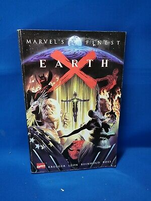 £9.95 • Buy Marvel Finest Earth X Graphic Novel 472 Pages Paperback