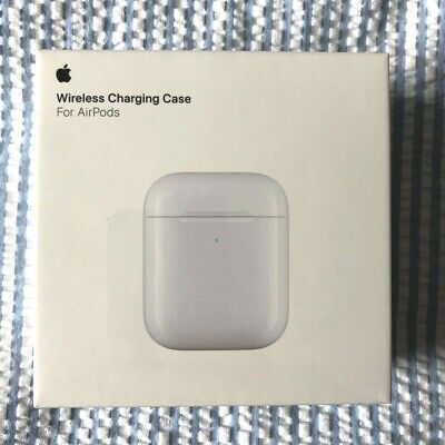 $ CDN110.78 • Buy Genuine Apple Wireless Charging Replacement Case For AirPods - Sealed MR8U2ZM/A