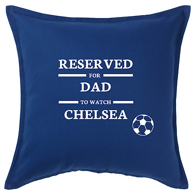 £13.99 • Buy Chelsea FC Cushion Cover, Personalised Football Gift, Birthday Gifts For Him