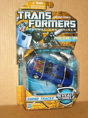 £40 • Buy TURBO TRACKS Mosc Transformers Reveal The Shield RTS 2010