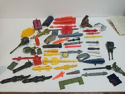 $ CDN24.19 • Buy Vintage 1980s Gi Joe Vehicle Accessory And Missile Parts Lot