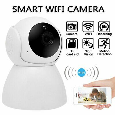 £23.57 • Buy WiFi IP Security Camera Wireless Indoor CCTV System Home Baby Pet Monitor HD UK