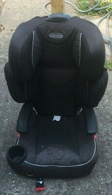 £3 • Buy Graco Junior Maxi Lightweight 4-12 Years Kids High Back Booster Car Seat - USED