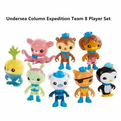 £4.99 • Buy 8pc The Octonauts Figures Octo Crew Pack Playset Action Figure Doll Toy Kid Gift