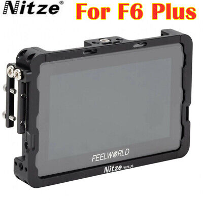 AU68.95 • Buy Nitze F6 Plus Monitor Cage HDMI Cable Clamp For Feelworld F6 Plus 5.5  Monitor