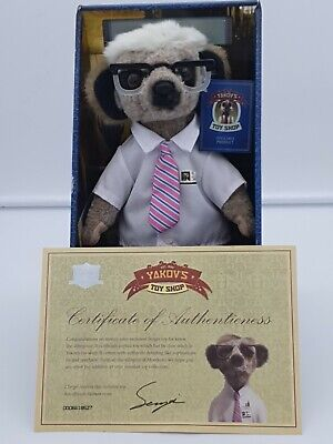 £8 • Buy Boxed Sergei Meerkat - Yakov's Toy Shop With 'Certificate Of Authenticness'