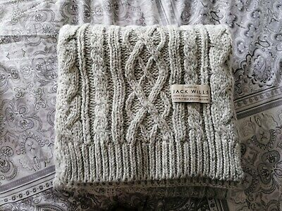 £3 • Buy Womens Jack Wills Cable Knit Scarf