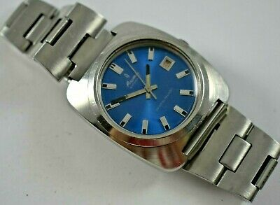 $ CDN60.49 • Buy Vintage Swiss Made Aroma Automatic Crystal Palace ETA 2472 Wrist Watch Runs Lot.