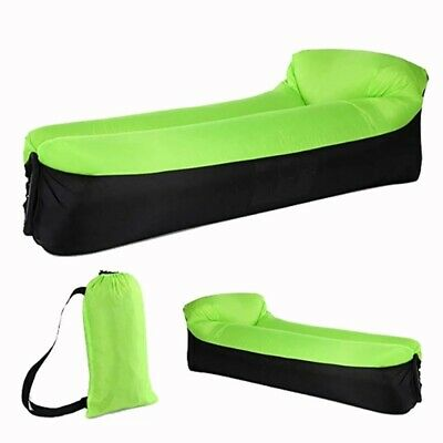 £14.68 • Buy Sofa Inflatable Air Bed Camping Couch Lounger Double Lazy Sleeping Bag Outdoor