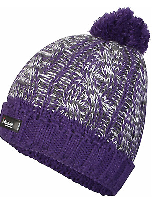 £5.86 • Buy ProClimate Thinsulate Waterproof Winter Cable Knit Pom Pom Bobble Beanie Hat