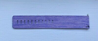 $ CDN12.46 • Buy Fitbit Versa Lavender Extender Large Band Purple Woven New From Fitbit Brand