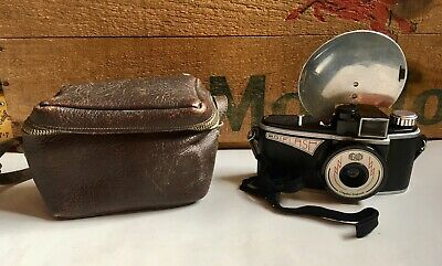 $ CDN25.57 • Buy Vintage 1950's Agilux Agiflash 127 Film Camera With Leather Case