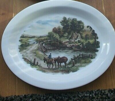 £12.99 • Buy 2 Hornsey Collectors Plates  Painted By J C Hunnick