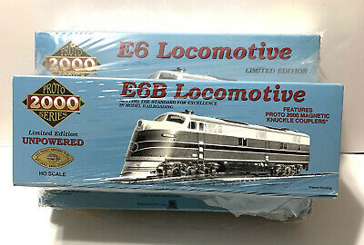 $ CDN182.70 • Buy Life-like Proto 2000 23199 Ho Scale E6 A & B Diesel Undecorated Locomotive New!!