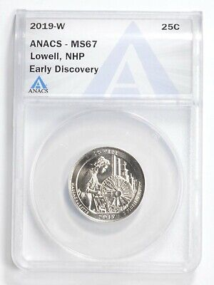 $ CDN0.01 • Buy 2019-W Lowell Quarter ANACS MS 67 Early Discovery West Point *0935