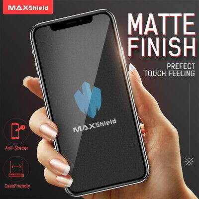 AU8.99 • Buy MATTE TEMPERED GLASS SCREEN PROTECTOR Fr IPhone 13 11 12 Pro Max X XS XR 8 Plus