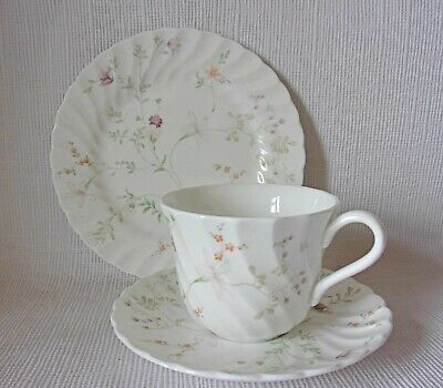 £9.95 • Buy Wedgwood Campion Tea Trio - Cup Saucer & Plate   Good Condition